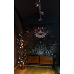 LAMPADA IN LEGNO DA TERRA